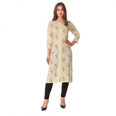 Fabric Cotton Kurti