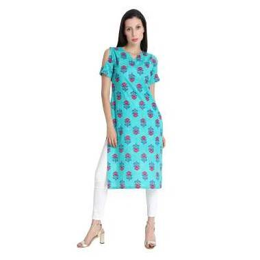 Fabric Cotton Kurti (1 Piece )