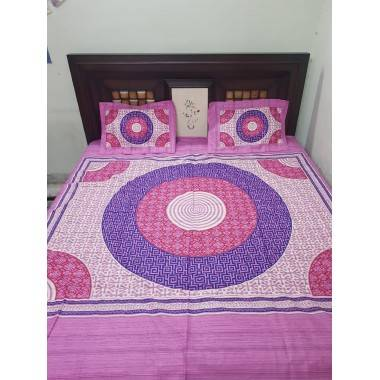 Khadi Double-Bed Bedsheet...