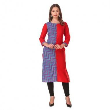 Cotton Kurti(RED)