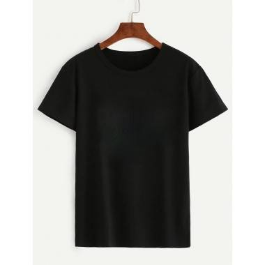 Plain T-Shirt ( Black, White)