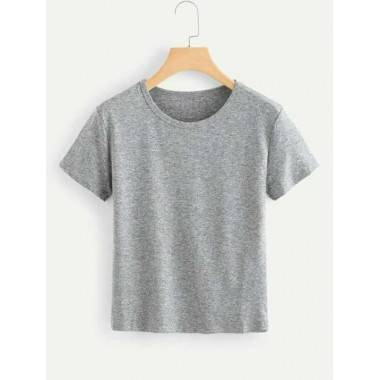 Plain T-Shirt (Grey)