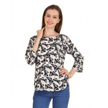 Butterfly Printed Top (1...