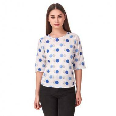 Polka-Dot Printed Top (1...