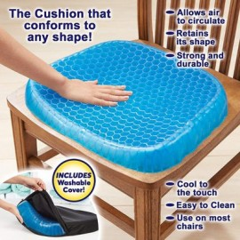 Egg Sitting Gel Flex Cushion Seat Sitter Flex Pillow Back support sit on an eggSupport