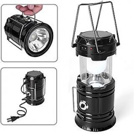 LED Emergency Solar Emergency Light Lanthern with USB and Mobile Charging Cable