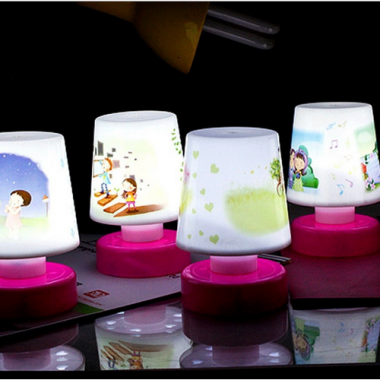 LED Cartoon Night Lamp