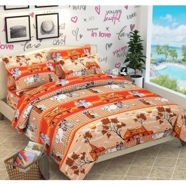 Soft Cotton Bedsheets with...