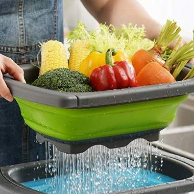 Foldable Washing Basket For...