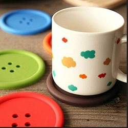 BUTTON COASTERS COFFEE MAT...