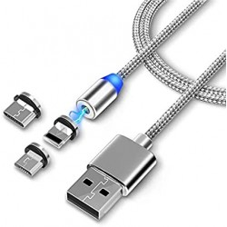 3 in1 Magnetic Data Cable,...