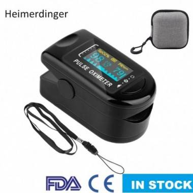 Finger Pulse Oximeter blood...