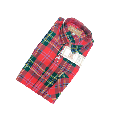 Buberry London Red Check Shirt
