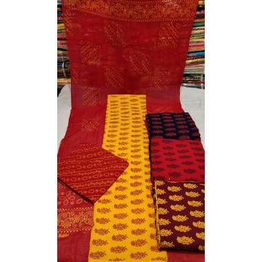 Pure Jaipuri Cotton Suit...