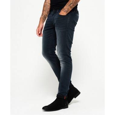 Gucci Dusted Black Blue Jeans