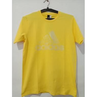 Adidas Yellow T- Shirt